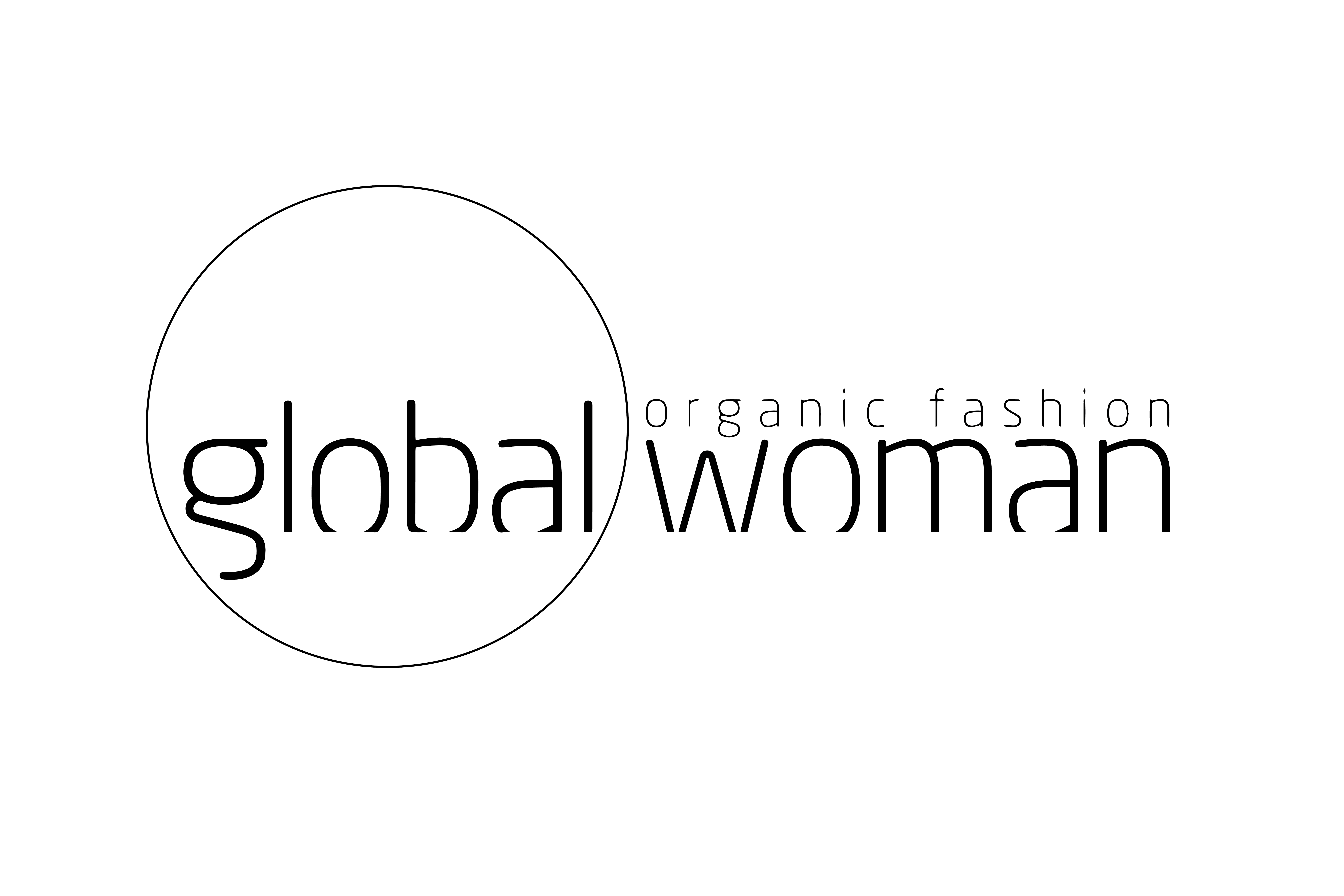 Global woman rond