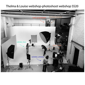 Thelma & Louise, shoot for the webshop SS20