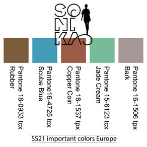 The most important colors for SS 21