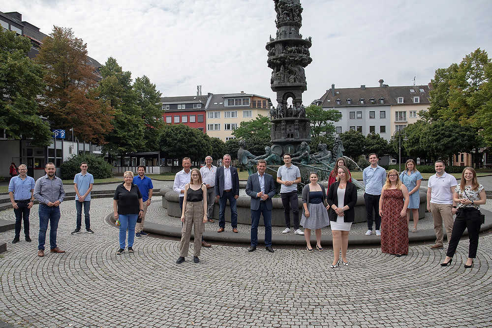 Treffen Christian Baldauf und AStA Uni Koblenz