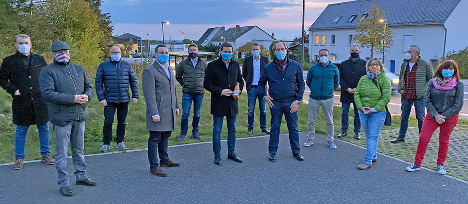 Christian Baldauf und Torsten Welling in Nörtershausen-Pfaffenheck