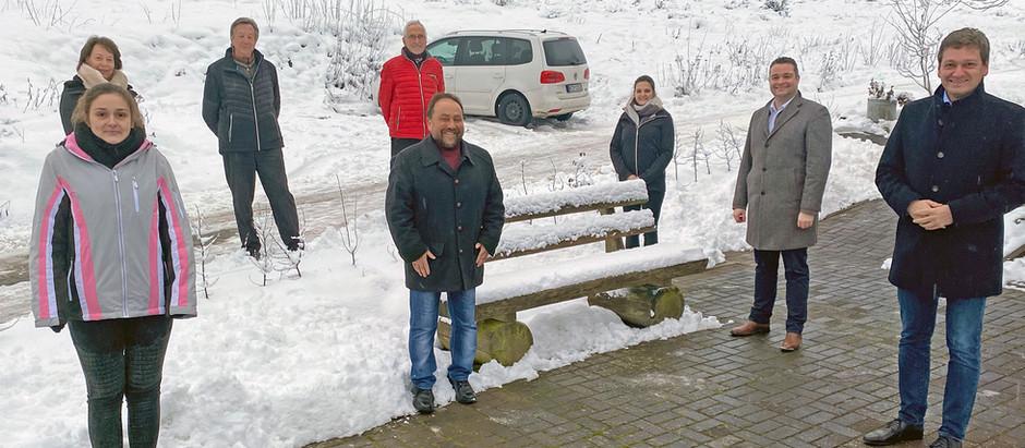 Zu Besuch in Langscheid in der Wacholderhütte