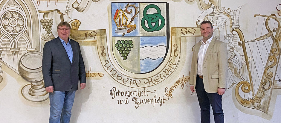 Zu Besuch bei Ortsbürgermeister Detlef Reil in Oberfell