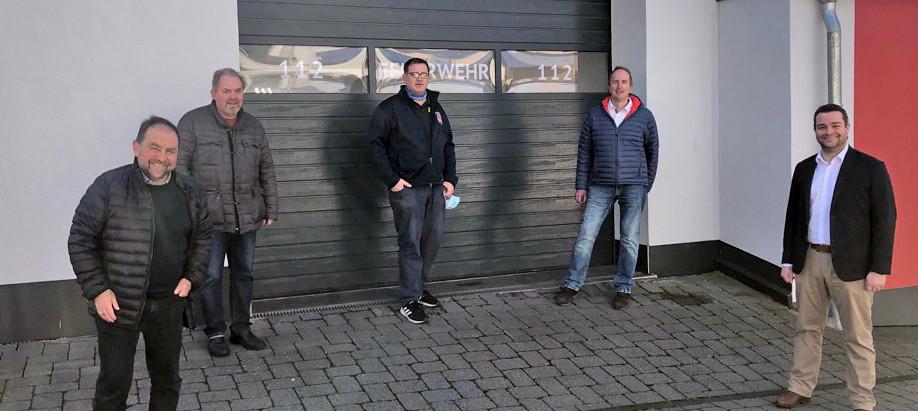 Welling besucht erste Übung der Freiwilligen Feuerwehr St. Johann in Coronazeiten