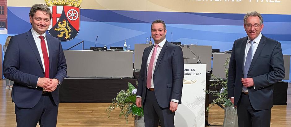 Landtag Rheinland-Pfalz konstituiert sich
