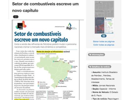 Estudos da LEGGIO ganham destaque no editorial do IBP, publicada no jornal Estadão