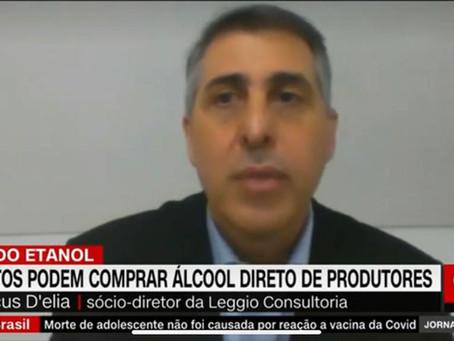 Marcus D'Elia falou à CNN Brasil sobre a MP da venda direta de etanol