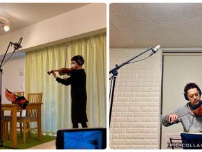 CD制作(3) 2人のバイオリニスト