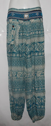 Thailand Paisley Hilltribe Hippie Pants
