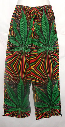 Men's Psychedelic Rasta Pants