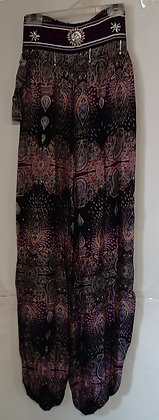 Ladies Thailand Paisley Hilltribe Hippie Pants