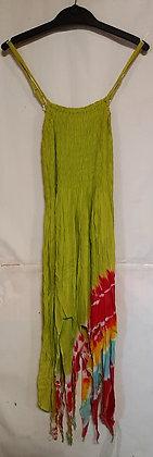 Ladies Long Pixie Tie Dye Maxi Dress