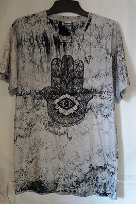 Men's Hamsa printed T-Shirt