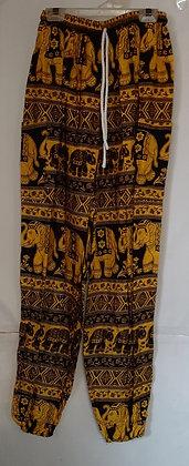 Ladies Thailand Elephant Straight Leg Pants