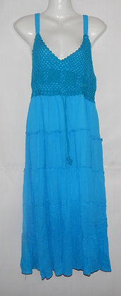 Gorgeous Blue Thailand Summer Dress