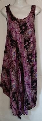 Ladies Long Thailand Paisley Top
