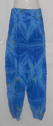 Tie Dye Blue Haram Bali Pants