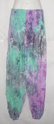 Tie Dye Pastel Haram Bali Pants