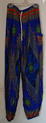 Ladies Thailand Peacock Straight Leg Pants