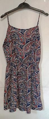 Ladies Summer Paisley Dress