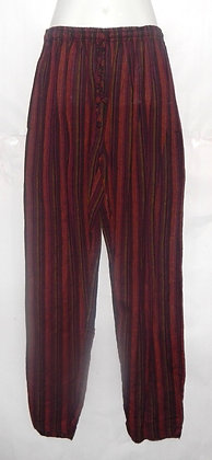 Men's Nepal Hippie Stripe Long Pants