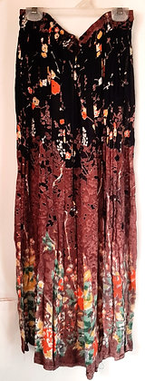 Ladies Indian Long Floral Skirt