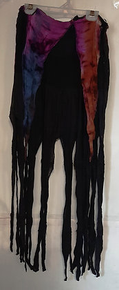 Gorgeous Long Black Pixie Skirt