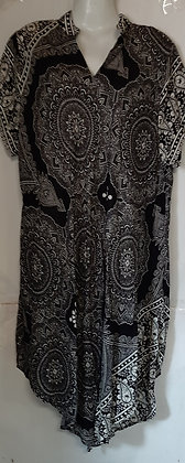 Ladies Long Thailand Mandala Top