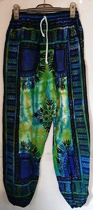 Men's Tie Dye African Style Tribal Pants