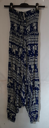 Ladies Thailand Haram Aladin Elephant Hippie Pants