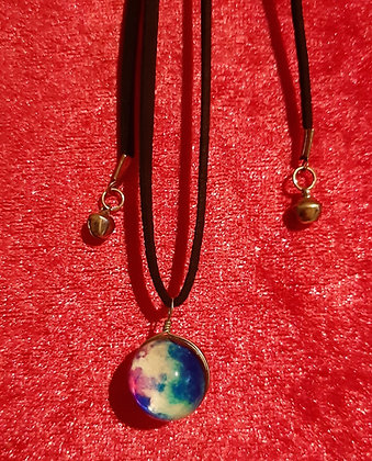 Planets / Solar System Long Necklace