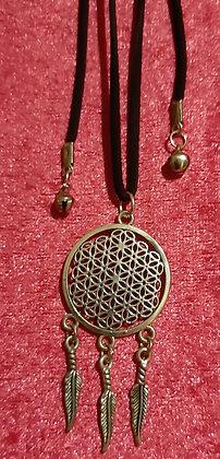 Dream Catcher Long Necklace