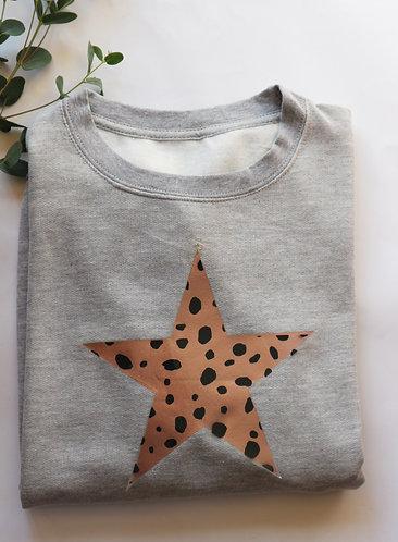 Dalmatian Star Sweatshirt / Hoodie