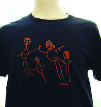 Matching Childs & Mens Personalised T Shirt