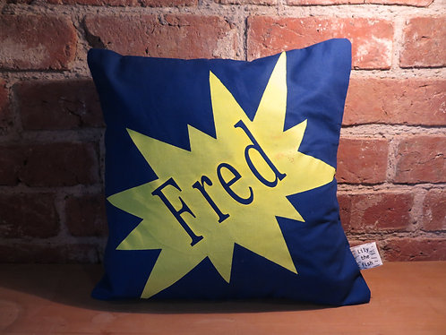 'Pow' Cushion