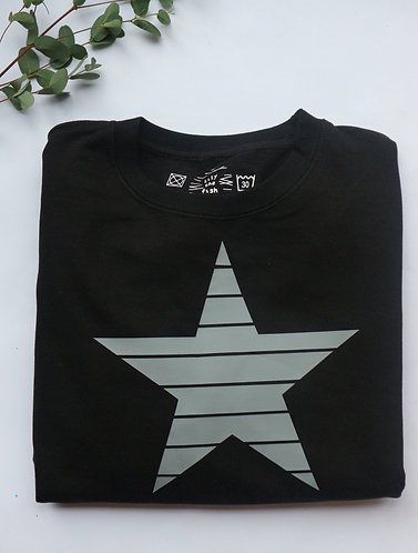 Lined Star Sweatshirt