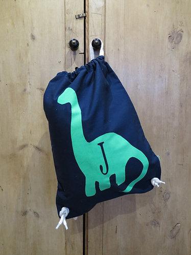 Dinosaur PE/Swim/Gym Bag