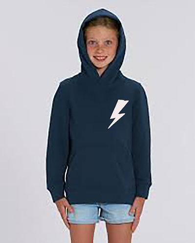 Flash Lightning Childrens ORGANIC Hoodie
