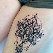 Big mandala by Tine Tattoo Tom Studio.JP
