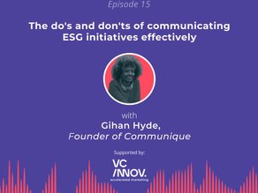 Market like a fintech: The do's and don'ts of communicating ESG initiatives with Gihan Hyde