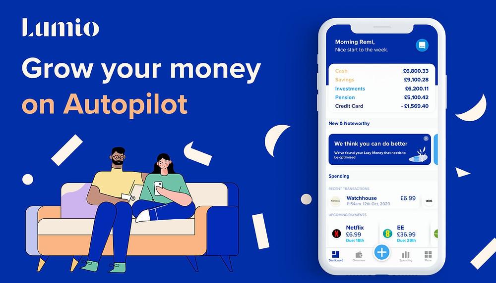 Lumio - Grow your money on autopilot - Banner