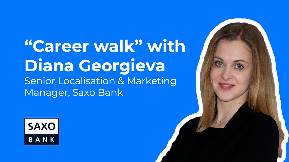 Diana Georgieva - Senior Marketing Manager at Saxo Bank