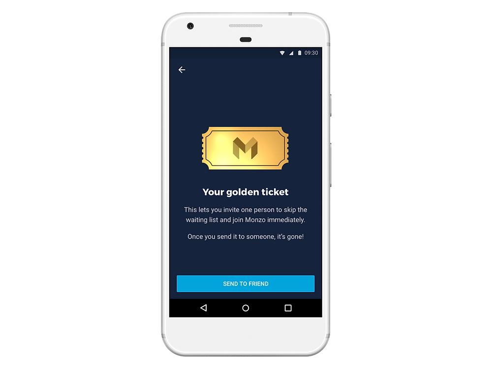 Monzo Golden Ticket