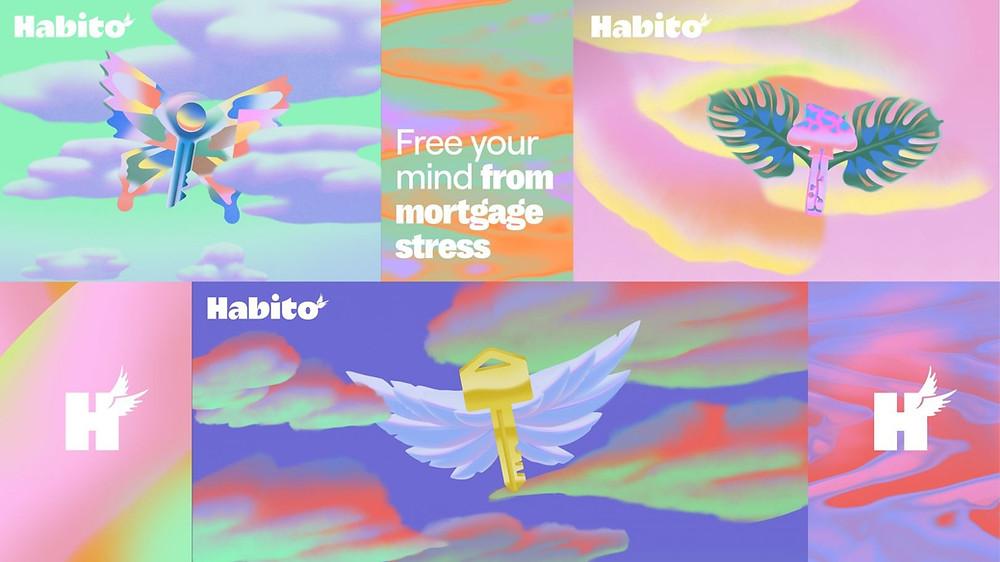 Habito's phantasmagoric rebrand