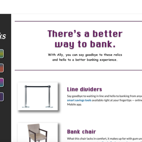 Going to the bank is a thing of the past: Inside Ally's new campaign