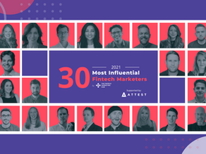 Top 30 most influential fintech marketers of 2021: annual list