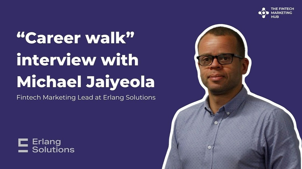 Career walk interview with Michael Jaiyeola of Erlang Solutions