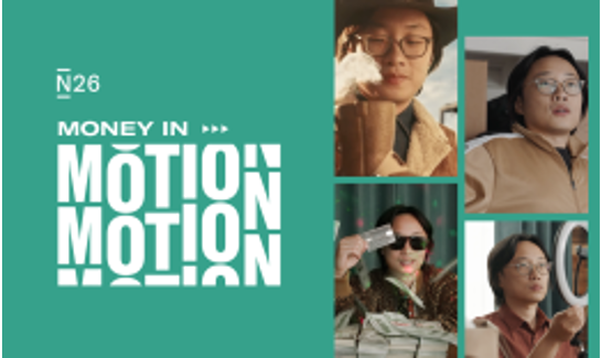N26 Money in Motion Campaign Banner