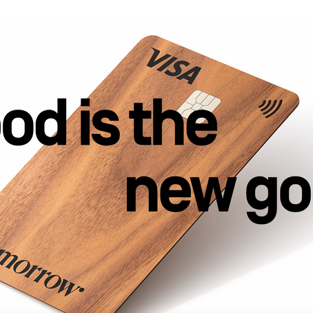 Sustainable marketing: German fintech Tomorrow launches a new wooden Visa card