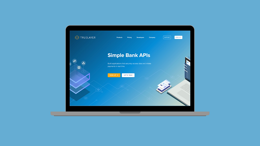 TrueLayer Bank APIs Screen